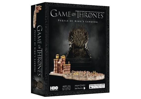3D Game of Thrones: Kings Landing