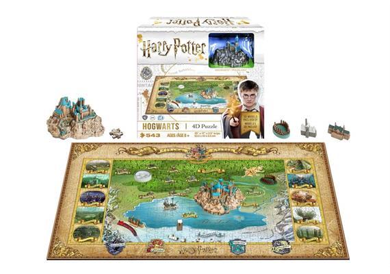 4D Mini Harry Potter Hogwarts