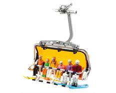 6 Figuren sitzend m.Snowboard