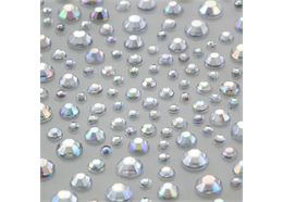 AB Clear, 325 Self Adhesive Crystals