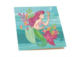 Ariel, 18x18cm Crystal Art Card