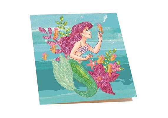 Ariel, 18x18cm Crystal Art Card