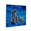 Aurora Family, 40x50cm LED Crystal Art Kit | Bild 4
