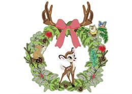 Bambi 30cm Disney Crystal Art Wreath