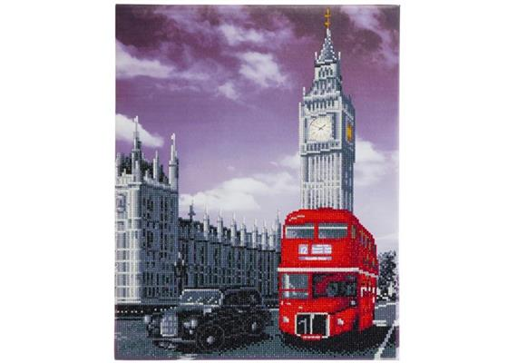 Best of Britain, 40x50cm Crystal Art Kit
