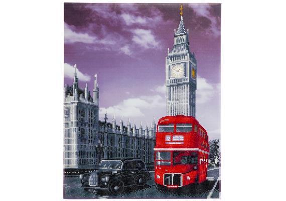 Best of Britain, 40x50cm Crystal Art Kit