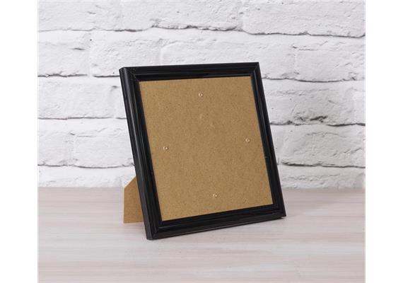 Black, 21x21cm Picture Frame for Crystal Art Cards