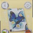 Blue Butterfly, 10x15cm Crystal Art Card | Bild 4