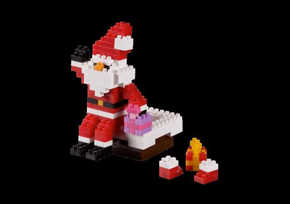 Brixies Weihnachtsmann am Schornstein