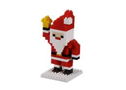 Brixies Weihnachtsmann mit Glocke
