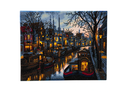 Canal Life, 40x50cm Crystal Art Kit