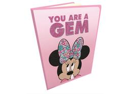 Classic Minnie, Crystal Art Notebook
