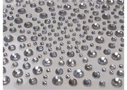 Clear, 325 Self Adhesive Crystals