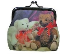 Clipgeldbörse 2 Teddybären