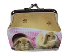 Clipgeldbörse Kaninschen