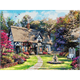 Country Cottage, 40x50cm Crystal Art Kit