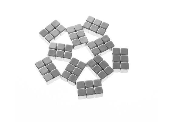 Cubes 125 ONYX SILVER