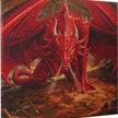Die Drachenhöhle: Anne Stokes, 70x70cm Crystal Art Kit | Bild 2