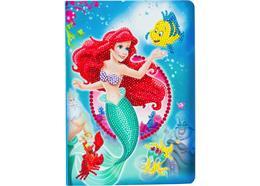 Die kleine Meerjungfrau Disney, Crystal Art Notizbuch