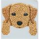 Dog, 9x9cm Crystal Art Motif