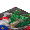 Dragon Gift, 18x18cm Crystal Art Card   Bild 3