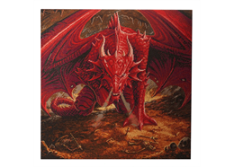 Dragon's Lair: Anne Stokes, 70x70cm Crystal Art Kit
