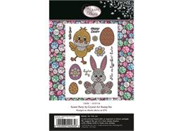 Easter Party, Crystal Art A5 Stamp