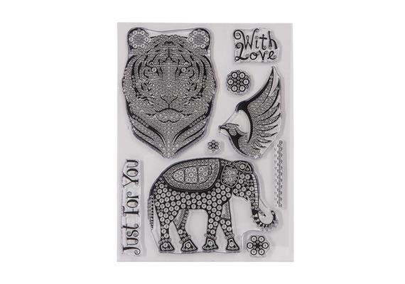 Eastern Dreams, Crystal Art A5 Stamp