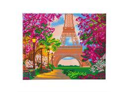 Eiffelturm, Bild 40x50cm Crystal Art Kit