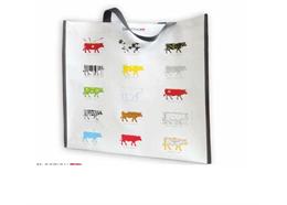 Einkaufstasche mit Kühen, 43 x 40cm