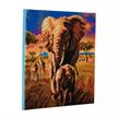 Elephant Of The Savannah, 30x30cm Crystal Art Kit | Bild 3