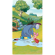 Eyore and Piglet, Crystal Art Triptych Part 2