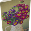 Flower Vase, 11x22cm Crystal Art Card   Bild 2