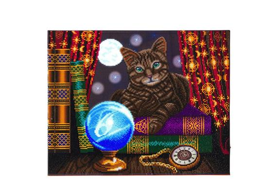 Fortune Teller, 40x50cm LED Crystal Art Kit