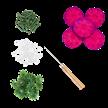 Fuchsia, Classic Carnations Forever Flowerz - Makes 30   Bild 3