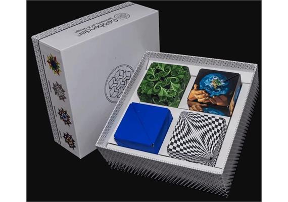 GeoBender Cube 4-er Box gemischt 2. Auflage