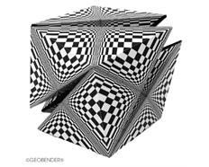 GeoBender Cube - Abstract 4-er Box