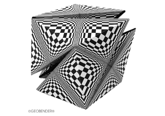 GeoBender Cube - Abstract