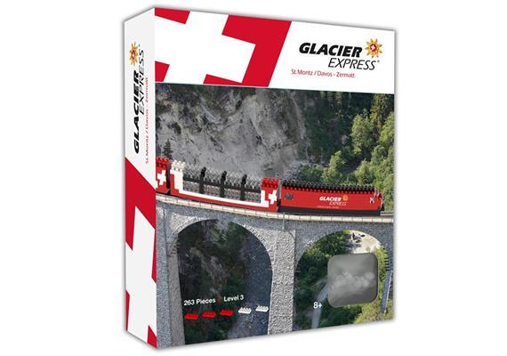 Glacier Express, Schwieritgkeitsgrad Level 3, ca. 450 Stck.