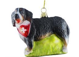 Glas Ornament Bernersennenhund