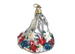 Glas Ornament Matterhorn