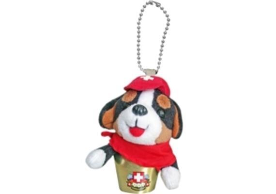 Glocken HappyBells Bernie, der Berner Sennenhund, Grösse S, Nachfüllset, Grösse: 7 - 8 cm