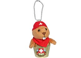 Glocken HappyBells Marmy, das Murmeli, Grösse L, Nachfüllset, Grösse: ca. 12 cm