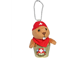Glocken HappyBells Marmy, das Murmeli, Grösse M, Nachfüllset, Grösse: 9 - 10 cm