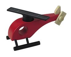 Helikopter Holz Rot & Rotor 6531