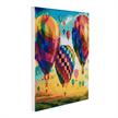 Hot Air Balloons, 30x30cm Crystal Art Kit | Bild 2