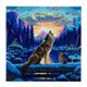 Howling Wolves, 30x30cm Crystal Art Kit