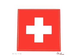 Kleber CH Kreuz 10 cm, wetter,- lichtbeständig