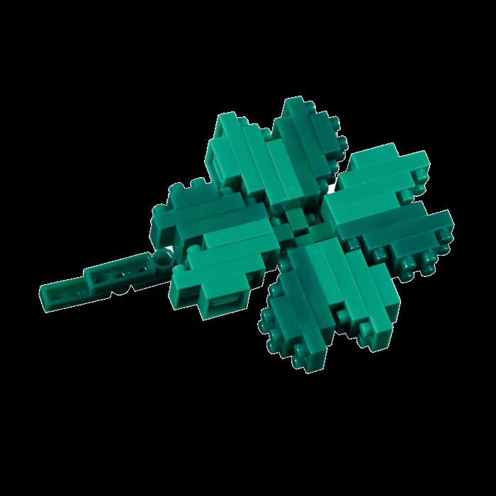 kleeblatt  shamrock brixies karten  creanorm polypins gmbh