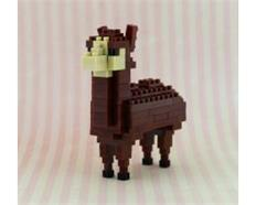 Lama braun / Lama brown